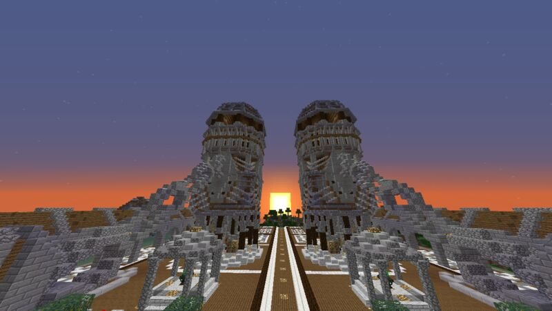 Sunset At Spawn